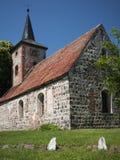 Buskow-Dorfkirche Royalty Free Stock Image