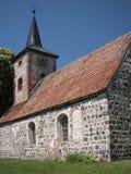 Buskow-Gemeindekirche Stock Photo