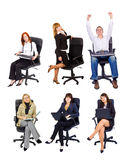 Busness group royalty free stock photos