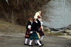 Buso festival, Mohacs, Ungern Royaltyfria Bilder