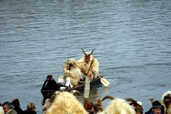 Buso Festival, Mohacs, Hungary Stock Image