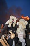 Busos на ноче Стоковое Изображение RF