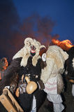 Busos przy nocą Obraz Royalty Free