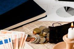 Busque una mejor inversión del mercado de acción Imagen de archivo