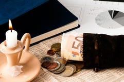 Busque una mejor inversión del mercado de acción Fotografía de archivo libre de regalías