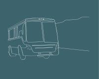buss Arkivbild