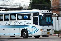 Buss av Nakhonchai luft Rutt Bangkok och Nakhonpanom Royaltyfri Bild