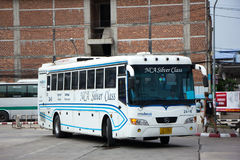 Buss av Nakhonchai luft Rutt Bangkok och Nakhonpanom Arkivfoton