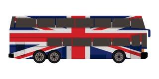 Buss för dubbel däckare Arkivfoton