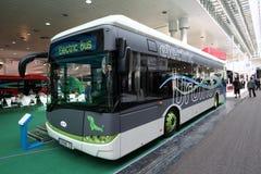 Buss för SolarisUrbino 12 elkraft Royaltyfria Foton