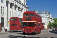 buss gammala london Royaltyfri Fotografi