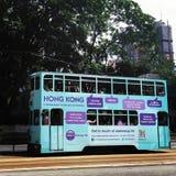 buss Hong Kong Royaltyfri Fotografi