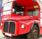 buss london Arkivfoto