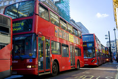 buss london Royaltyfri Foto