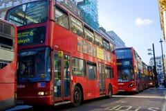 buss london Royaltyfri Foto