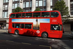 buss london Arkivbild