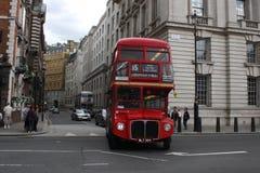 buss london Fotografering för Bildbyråer