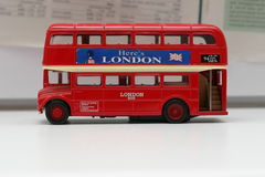 buss london Arkivfoto