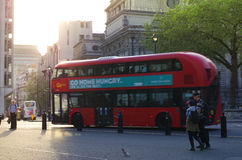 buss london Royaltyfri Bild