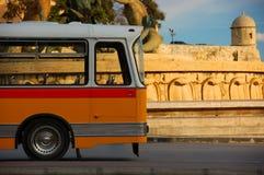 buss malta royaltyfri foto
