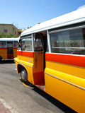 buss malta Royaltyfria Bilder