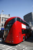 buss nya london Royaltyfri Foto