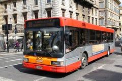 buss rome Arkivbild
