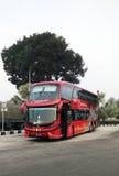 Buss som är kosmisk i Malaysia Arkivfoton