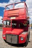 buss traditionella london Royaltyfri Bild