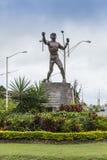 Bussa解放雕象巴巴多斯 免版税库存照片