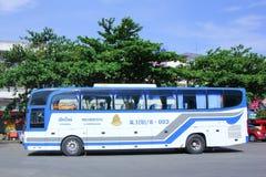 Bussa ingen 8-003 av det thailändska regerings- bussföretaget Arkivbild