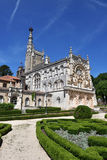 bussaco宫殿葡萄牙 库存照片
