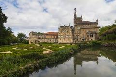 bussaco pałac Portugal Zdjęcia Royalty Free