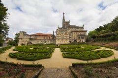 bussaco pałac Portugal Zdjęcie Royalty Free