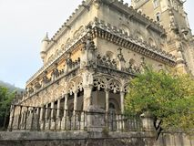 The Bussaco palace stock photography