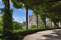Bussaco Palace near Luso in Portugal Stock Image