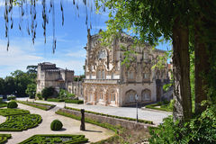 Bussaco Palace near Luso in Portugal Royalty Free Stock Images
