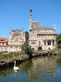 The Bussaco Palace, Portugal stock photo