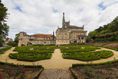 Bussaco Palace, Portugal Royalty Free Stock Photo