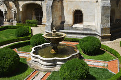 Bussaco Palace, Portugal. Fountain Stock Image