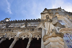 Bussaco Palace, Portugal. Sculpture of a woman Royalty Free Stock Photos