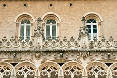 Bussaco windows Royalty Free Stock Photography