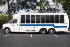 bussanslutning Fotografering för Bildbyråer