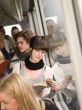 bussavläsning arkivfoto