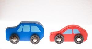 bussbilar taxar toyyellow Royaltyfria Foton