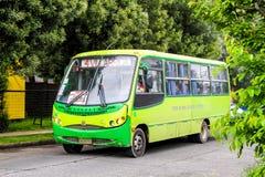 Busscar Micruss royalty-vrije stock foto's