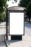 Busschutz Stockbild