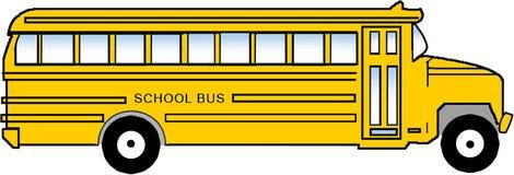 bussclipartskola Royaltyfri Bild
