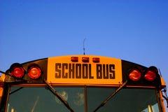 busscloseupskola Royaltyfri Fotografi