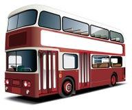 bussdäckaredouble Royaltyfri Fotografi